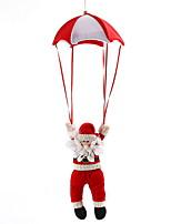 baratos -Fantasias de Natal / Enfeites de Natal Férias Tecido de Algodão Cubo Novidades Decoração de Natal