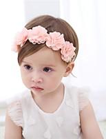 baratos -Bébé Para Meninas Sólido / Floral Acessórios de Cabelo
