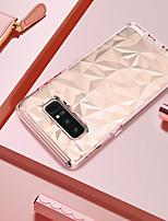 Недорогие -Кейс для Назначение SSamsung Galaxy Note 8 Защита от удара / Покрытие / Ультратонкий Кейс на заднюю панель Однотонный Мягкий ТПУ / ПК для Note 8