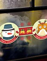 Недорогие -Оконная пленка и наклейки Украшение Рождество Праздник ПВХ Новый дизайн / Cool