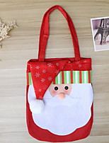 Недорогие -Рождество Праздник Нетканый материал Для вечеринок Рождественские украшения