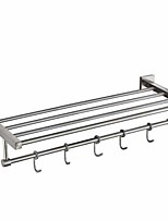 cheap -Bathroom Shelf New Design / Cool Contemporary Stainless Steel / Iron 1pc Wall Mounted