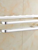 billiga -Badrumshylla Ny Design / Multifunktion Moderna Aluminum 1st Väggmonterad