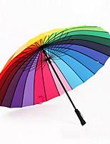 Недорогие -Нержавеющая сталь Все Солнечный и дождливой / Cool Зонт-трость