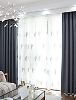 Недорогие -Шторы портьеры Спальня Цветочный принт / Геометрический принт Полиэстер Активный краситель