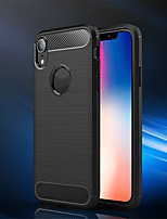 economico -Custodia Per Apple iPhone XS / iPhone XR Effetto ghiaccio Integrale Tinta unita Morbido TPU per iPhone XS / iPhone XR / iPhone XS Max