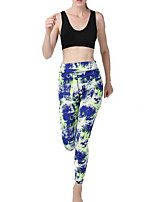 cheap -Women's Basic Legging - Geometric Mid Waist