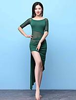 economico -Danza del ventre Vestiti Per donna Prestazioni Modal Più materiali Mezza manica Abito