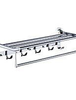 preiswerte -Badezimmer Regal Neues Design / Cool Moderne Edelstahl / Eisen 1pc Wandmontage