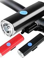 baratos -Lanternas LED LED Luzes de Bicicleta Ciclismo Impermeável, Ajustável, Anti-Choque Bateria de Lítio 300 lm Carregamento de Bateria mi.xim