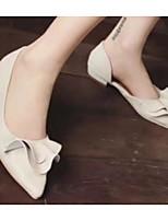 Недорогие -Жен. Комфортная обувь Полиуретан Весна На плокой подошве На плоской подошве Розовый / Миндальный