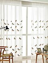 billiga -Skira Gardiner Shades Sovrum Modernt Bomull / Polyester Reaktiv Tryck