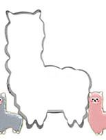 Недорогие -Инструменты для выпечки Нержавеющая сталь Очаровательный Печенье Животный принт Пивные инструменты 1шт