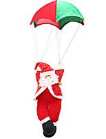 abordables -Décorations de Noël Tissu cube Nouveautés Décoration de Noël
