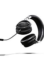abordables -Lasmex bandeau l-90 filaire / audio casque écouteurs alumnium alliage / similicuir pro écouteur audio stéréo / hifi casque