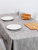 cheap -Contemporary Cotton Square Table Cloth Striped Table Decorations 1 pcs