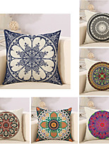 cheap -6 pcs Cotton / Linen Modern / Contemporary / Pillow Case, Geometric / Geometic / Graphic Prints Geometric / Boho