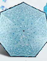cheap -Stainless steel All Sunny and Rainy / Adorable Folding Umbrella