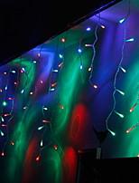 Недорогие -3x2M Гирлянды 209 светодиоды Разные цвета Декоративная / обожаемый 220-240 V 1 комплект