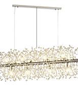 abordables -OBSESS® Plafonnier pour Ilôt de Cuisine Lustre Lumière d'ambiance Plaqué Métal Cristal 110-120V / 220-240V / G9 / Ampoule incluse / FCC