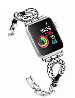 billiga -Klockarmband för Apple Watch Series 4/3/2/1 Apple Sportband / Modernt spänne Metall / Rostfritt stål Handledsrem