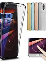 Недорогие -Кейс для Назначение Apple iPhone X / iPhone 8 Прозрачный Чехол Однотонный Мягкий ТПУ для iPhone X / iPhone 8 Pluss / iPhone 8