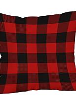 Недорогие -Наволочка Новогодняя тематика Хлопковая ткань Квадратный Оригинальные Рождественские украшения