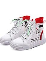 Недорогие -Мальчики / Девочки Обувь Эластичная ткань Осень Удобная обувь Кеды для Дети Белый / Бежевый
