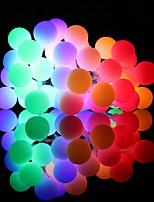 Недорогие -5 метров Гирлянды 40 светодиоды Тёплый белый / Белый / Разные цвета Новый дизайн / Декоративная / Cool Аккумуляторы AA