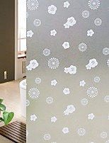 cheap -Window Film & Stickers Decoration Contemporary / Ordinary Solid Colored / Geometric PVC(PolyVinyl Chloride) Window Sticker / Cute / Lovely