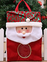 Недорогие -Подарочные мешки Новогодняя тематика Ткань Квадратный Оригинальные Рождественские украшения