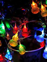 abordables -5m Guirlandes Lumineuses 30 LED Plusieurs Couleurs Décorative / Adorable 220-240 V 1 set