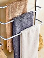 preiswerte -Handtuchhalter Neues Design Moderne Aluminium 1pc 3-Handtuch-Bar Wandmontage