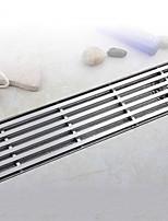 Недорогие -Слив Новый дизайн / Креатив Современный Нержавеющая сталь / железо 1шт истощать Установка на полу