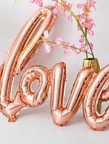 Недорогие -Воздушный шар Алюминиевая фольга 1шт Свадьба