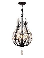 Недорогие -JLYLITE 4-Light Мини Люстры и лампы Рассеянное освещение Окрашенные отделки Металл Мини 110-120Вольт / 220-240Вольт Лампочки не включены / E12 / E14