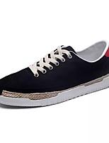 Недорогие -Муж. Комфортная обувь Полотно Осень Кеды Черный / Серый / Зеленый