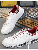 Недорогие -Муж. Комфортная обувь Полиуретан Весна & осень Кеды Красный / Зеленый / Черно-белый