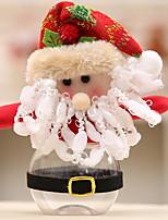 baratos -Enfeites de Natal Natal Plástico Quadrada Novidades Decoração de Natal