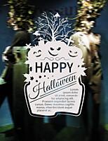 Недорогие -Оконная пленка и наклейки Украшение Хэллоуин Праздник ПВХ Cool / Магазин / Кафе