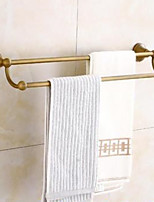 cheap -Towel Bar / Bathroom Shelf New Design / Multifunction Contemporary Brass 1pc Double Wall Mounted