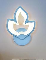 baratos -Fofo / Novo Design LED / Moderno / Contemporâneo Luminárias de parede Quarto / Quarto das Crianças Acrílico Luz de parede IP65 220-240V 24 W