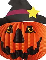 Недорогие -Праздничные украшения Украшения для Хэллоуина Хэллоуин Развлекательный Декоративная Оранжевый 1шт