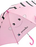 Недорогие -Нержавеющая сталь Мальчики / Девочки Солнечный и дождливой / Новый дизайн Зонт-трость