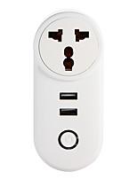 Недорогие -weto w-t04 in / za wifi smart plug для интеллектуального домашнего пульта дистанционного управления работает с alexa google home timer socket для ios android