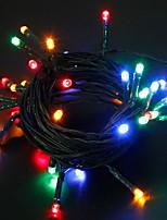 Недорогие -2м Гирлянды 20 светодиоды Разные цвета Аккумуляторы 1 комплект