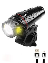 cheap -Bike Light / Front Bike Light / Safety Light LED Bike Light XP-G2 Cycling Waterproof, Portable, Quick Release Li-polymer 350 lm Built-in Li-Battery Powered Daylight Camping / Hiking / Caving / ABS