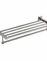 Недорогие -Полка для ванной Новый дизайн / Cool Современный Нержавеющая сталь / железо 1шт На стену