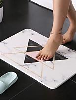 Недорогие -1шт Modern Коврики для ванны Специальный материал Геометрический принт Квадратный Cool