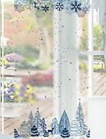 Недорогие -Оконная пленка и наклейки Украшение Современный Геометрический принт ПВХ Стикер на окна